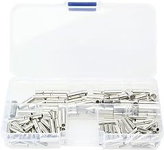 裸圧着スリーブ B形 圧着接続端子 3種セット 合計150個 ケース入り 配線同士の接続に 突き合わせ用