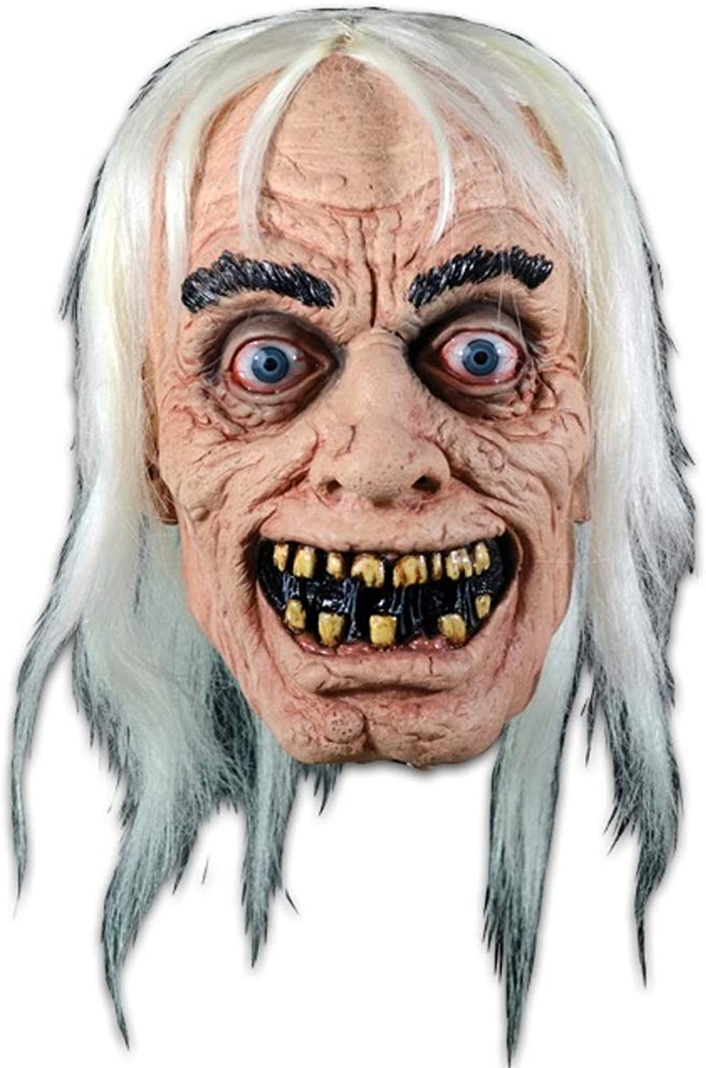Trick Or Treat Studios EC Comics Tales from The Crypt Crypt Keeper Adult Latex Mask Licensed Deluxe New