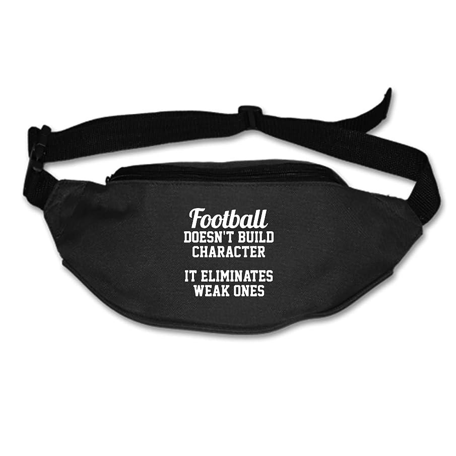 Womens Sports Hiking Running Belt Football Top Football Waist Bag Pouch Zipper Printed Fanny Pack