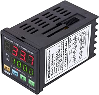 Tykeed Digital LED PID Temperature Controller Heating Cooling Control RNR 1 Alarm Relay Output TC/RTD
