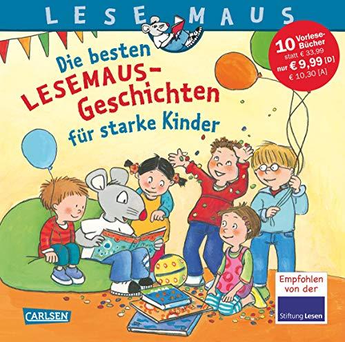 LESEMAUS Sonderbände: Die besten Lesemaus-Geschichten für starke Kinder: 10 Geschichten zum Anschauen und Vorlesen in einem Band