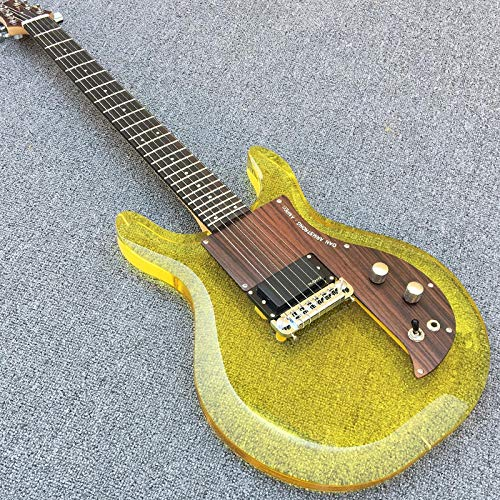 MLKJSYBA Guitarra Guitarra Eléctrica 24 Fret Guitarra Acústica Acero Guitarra Guitarra Clásica Guitarras acústicas (Color : Guitar, Size : 41 Inches)