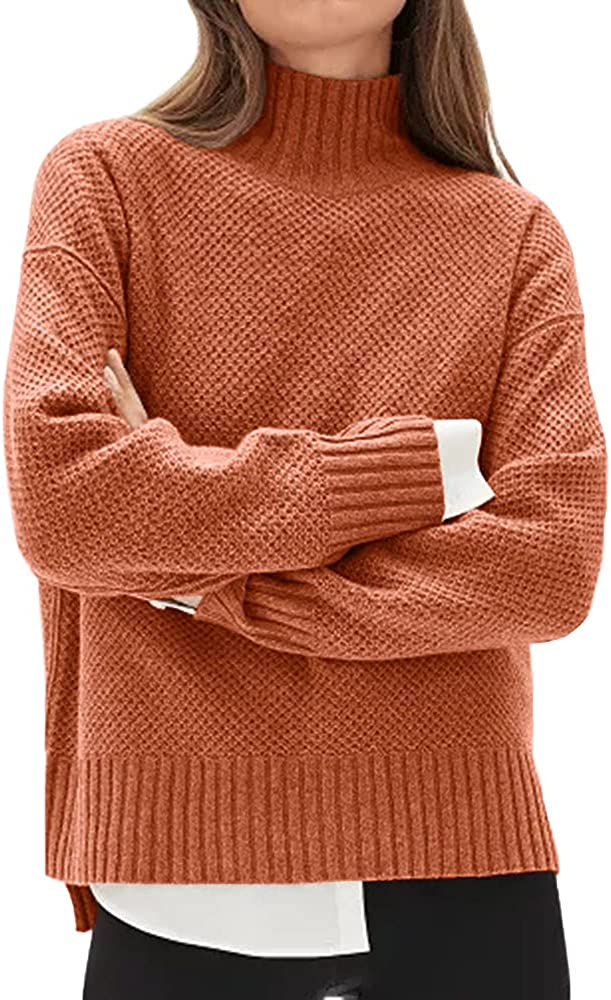 Women's Turtleneck Fall Sweaters Trendy National uniform free shipping Jumper Pullover Ultra-Cheap Deals Knitted