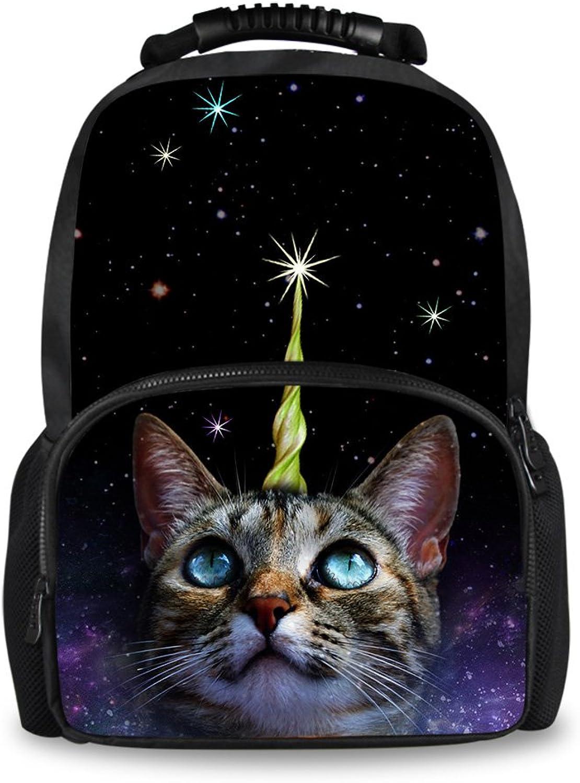 HUGS IDEA IDEA IDEA Kinderrucksack, Galaxy Cat (Schwarz) - Y-CC3665A B07F7JLW43   Neuer Eintrag  70c35d