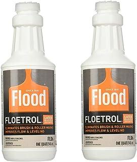 FLOOD/PPG Pack of 2 FLD6 Floetrol Paint Conditioner Additive - 2 pack of 1 Quart FLD6-04