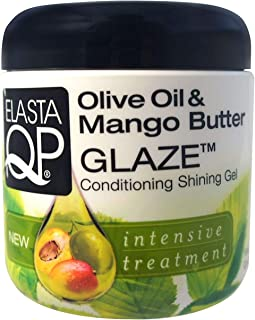 Elasta QP Glaze Conditioning Shining Gel, 6 oz (Pack of 4)