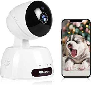 Security Camera, IP Camera, WiFi 1080P Wireless Indoor Home Security Camera System Pet/Dog/Elder/Baby HD Camera with Night...