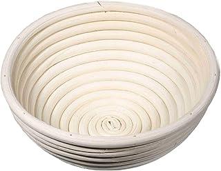 SIDCO Gärkorb Gärkörbchen Brot Teig Korb Form Gärkörbe Peddigrohr 0,5 kg rund ca 20 Ø
