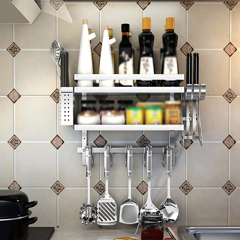 ZZHF yushizhiwujia Kitchen Shelves Stainless Steel Drain Rack Home   Kitchen Dish Rack Wall Mounted Sink Pool Rack Kitchen Supplies Rack (color   D)