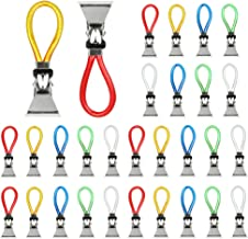 TANCUDER 30 stuks handdoekhouders clip metalen theedoeken haak kleurrijke handdoekklemmen doek hangend clips multifunction...