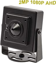 CNDST CCTV 1080P HD AHD Mini Spy Pinhole Security Camera for CCTV AHD 1080P DVR System, Sony Sensor 2000Tvl 2MP 3.6mm 90 Degree, Mini Hidden Surveillance Camera