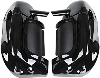 Lower Vented Leg Fairing 6.5Speakers w/Grills Fits For Harley Street Road Glide Fits 1983-2013 Touring (except 1998-2009 FLTR) and Trike models. Stock on FLHTCU, FLHTK and FLHTCUTG Motorcycle Harle