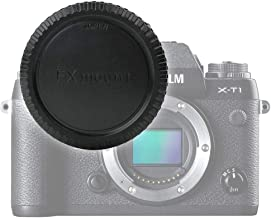CELLONIC Body Cap compatible with Fuji X-A1 X-A2 X-E1 X-E2 X-E2S X-M1 X-Pro1 X-Pro2 X-T1 X-T10 X-T2 X-T20  BCP-001   Bayonet Protective Cover  Lid Fuji Mount
