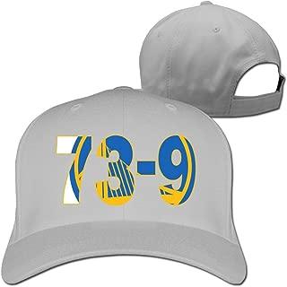 Adjustable Baseball Hats - Warriors 73-9 Best Record Ever 2