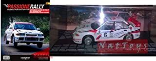 EDICOLA Mitsubishi Lancer RS EVO III San Marino 1996 Die Cast 1:43 +fas Passione Rally Compatible con