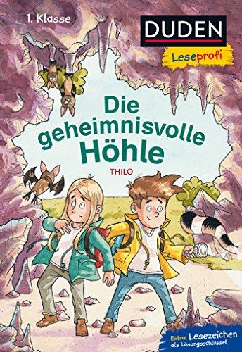 Duden Leseprofi – Die geheimnisvolle Höhle, 1. Klasse (DUDEN Leseprofi 1. Klasse)