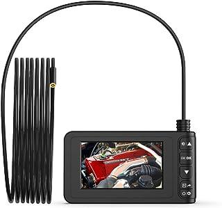 KKmoon Endoskop Handheld Industrie Endoskopkamera 4 Zoll High Definition Inspektionskamera 1080P Bildschirm IP67 Wasserdicht mit 8 LED Licht Deutsch