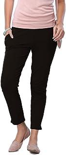 57ae904e4f93d GO COLORS Knitted Kurti Pants - Black (Short)