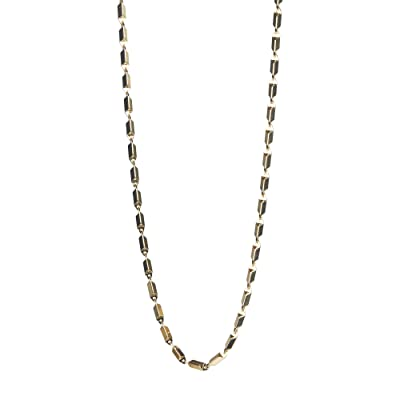 Rebecca Minkoff Bar Chain Necklace (Gold) Necklace