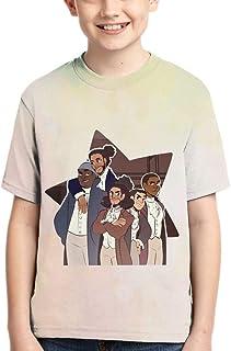 Ynb Art Ham-Ilton 3D Print T-Shirt Fashion Comfortable Sleeve Tops Kids Teenagers Tee for Boys Girls