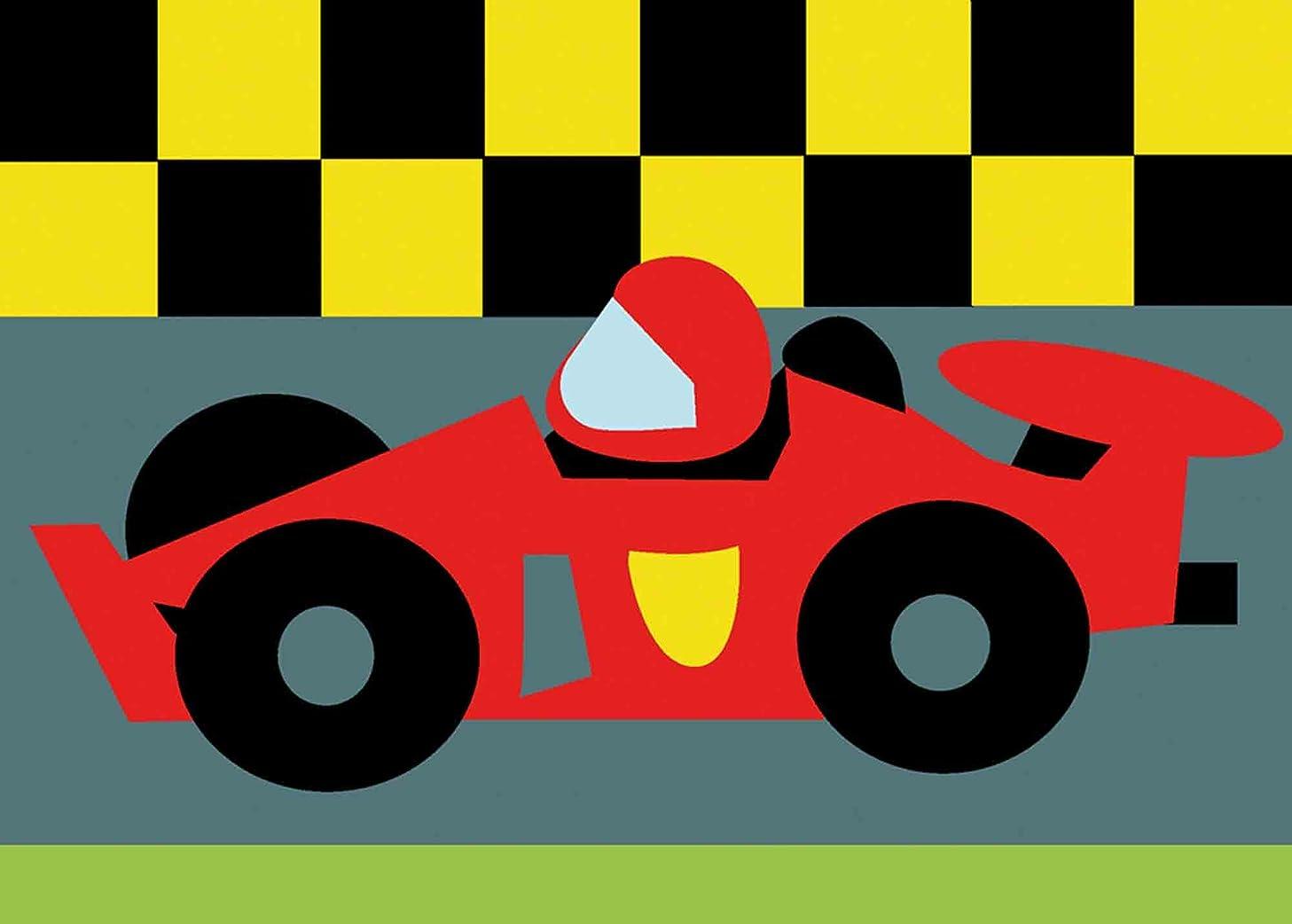 DMC Childrens Tapestry Kit - Race Car - C09N175K