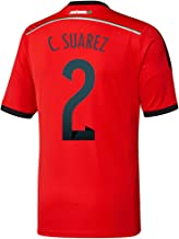 adidas C. Suarez #2 Mexico Away Jersey World Cup 2014