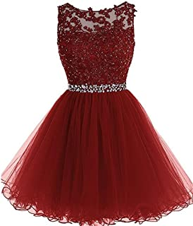 Women's Short Prom Party Dress A Line Tulle