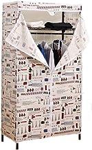 Portable Wardrobe Simple Wardrobe Oxford Cloth Torage Closet Home Wardrobe Dust Cover Clothing Storage Cabinet Save Space ...
