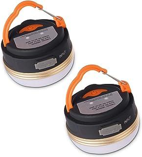 luz de Emergencia Luz Repelente de Mosquitos Luz de Advertencia SOS IP68 L/ámpara Linterna de Luces multifuncionales para Acampar de 2 tama/ños luz de Campamento LED Recargable por USB S-Q7
