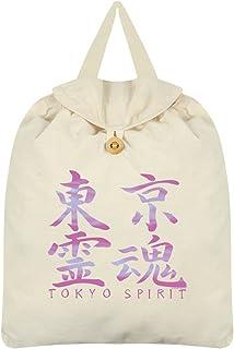 Tokyo Spirit Kanji Festival Backpack Cream 35 x 41cm