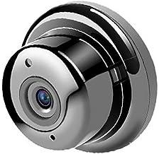 Miaoqian Mini câmera sem fio Wi-Fi com monitor remoto para segurança em lojas de escritór domésticos
