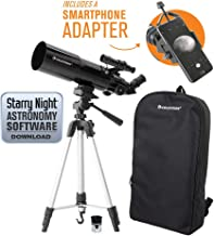 Celestron 22030 Travel Scope 80 Portable Telescope with Smartphone Adapter and Backpack, (Renewed)
