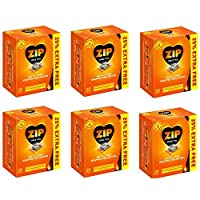 240 Pcs Zip Fast & Clean Wrapped Firelighters No mess, no smell, just light the wrapper (Pack of 12) 2