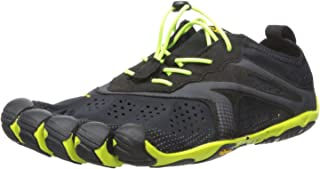 Vibram Mens V-Run Black Shoes