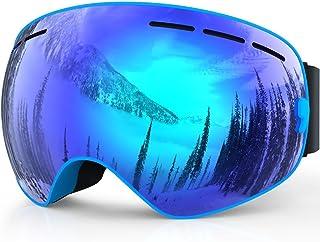 Baby-go® Benice Profesional Gafas de esquí Doble Lente antiniebla UV protección Grandes Gafas de esquí Esquí Snowboard Nieve Gafas para Hombres Mujeres