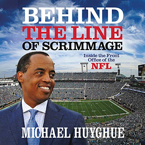 Behind the Line of Scrimmage audiobook cover art