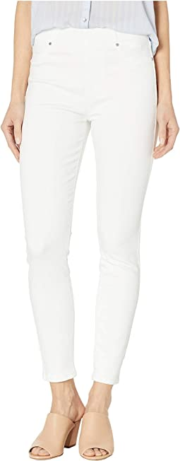 Chloe Pull-On Ankle Skinny in Bright White