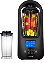 Omorc-Smoothie Blender with New Vacuum Technology, 50oz Vacuum Blender & 27oz Smoothie Cup, Ice Cruser, LCD Screen & Timer, One button Self-Cleaning & Dishwasher Safe, BPA-Free