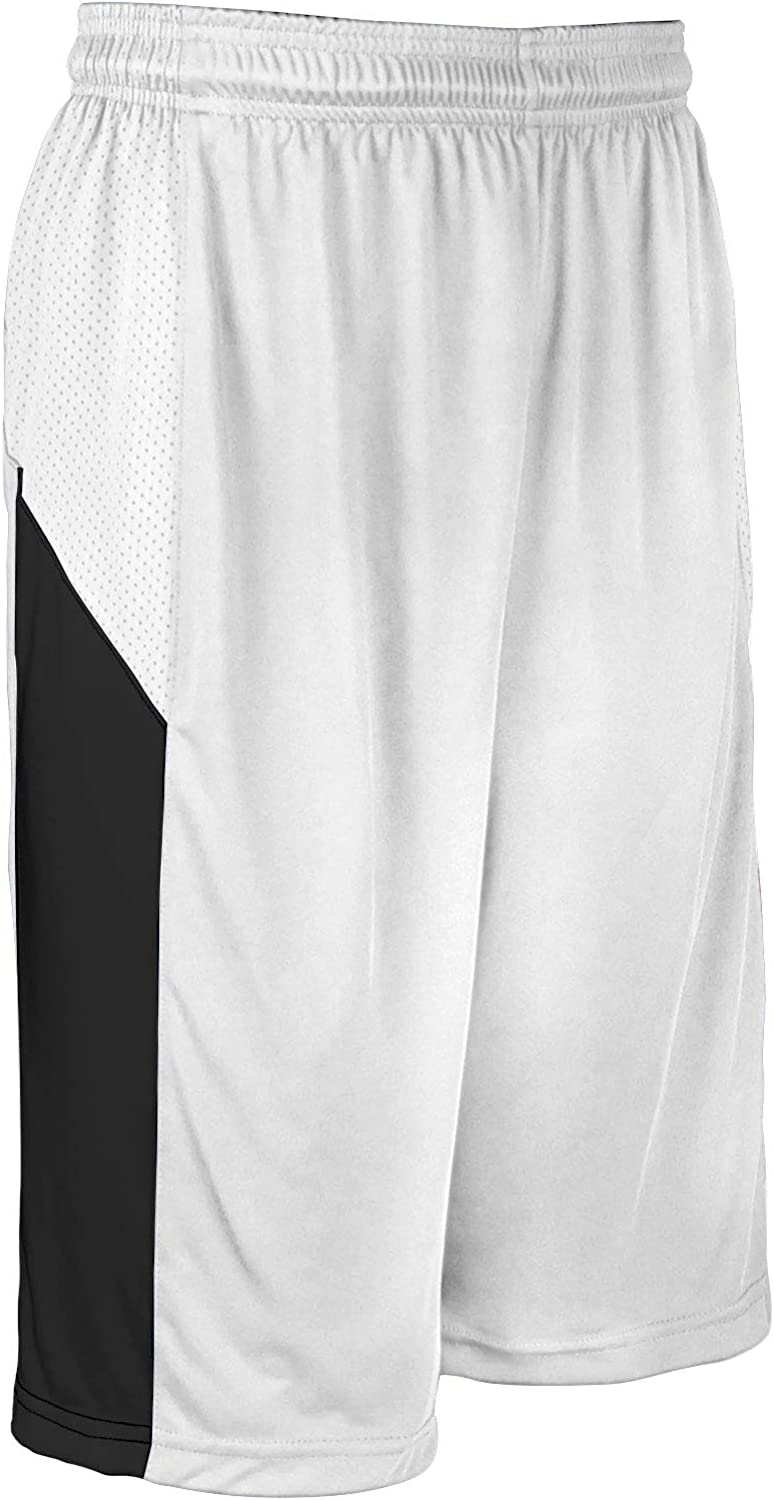 Ranking TOP6 CHAMPRO Charge Polyester Basketball Cheap White Adult Short X-Large
