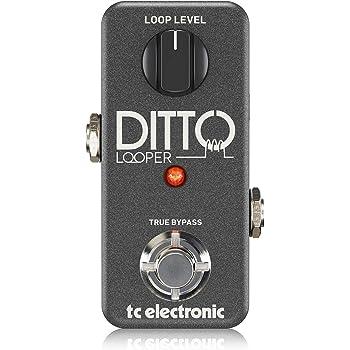 TC Electronic DITTO LOOPER - Pedal de fraseo/looping, funciones de undo/redo