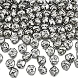 100 Pieces 4/5 Inch Jingle Bells, Craft Bells, DIY Bells for Wreath, Holiday Home and Christmas Decoration (4/5 Inch)