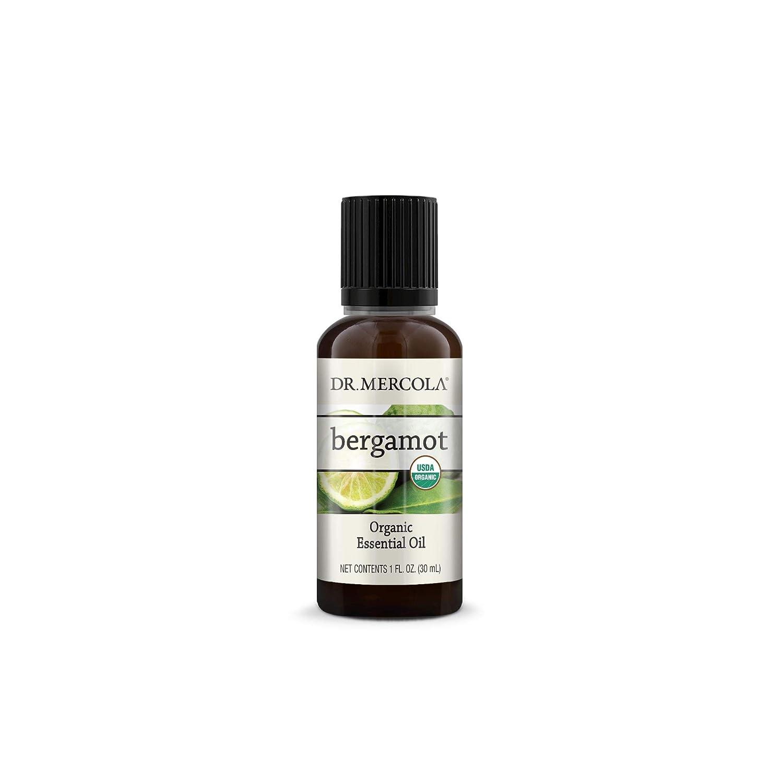 Dr. Mercola Bergamot Essential Oil 格安店 割引も実施中 1 fl and USDA O GMO oz non