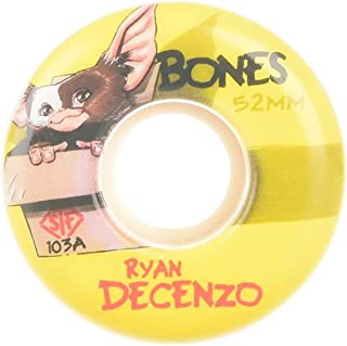 Bones Skateboard Wheels 52mm Decenzo Gizzmo V2 Locks STF 103A