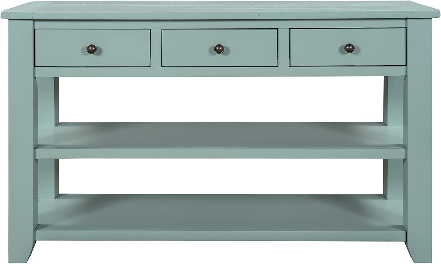 Tskxuns Industrial depot Console Table with S 48 Inches Modern Drawers Max 87% OFF