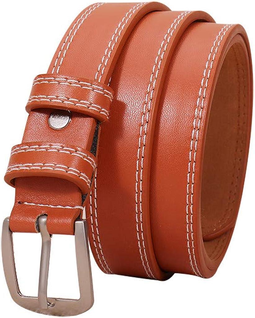 Tonsee Womens Waist Belt Narrow Financial sales sale Stretchy Thin 4 years warranty Metal Buckle Light
