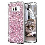 OKZone Galaxy S8 Plus Case + HD Screen Protector, Bling