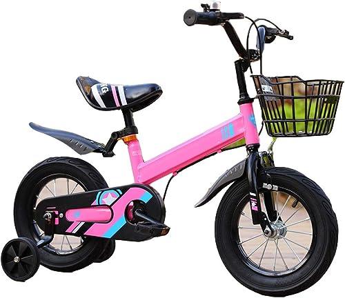 Precio al por mayor y calidad confiable. YUMEIGE Bicicletas Bicicleta para Niños de 12 14    16 18  para Niños de 2-9 años 33-59 Pulgadas de Alto, Bicicleta para niñas con Ruedas de Entrenamiento Ciclismo para Niños Equipado con Freno de seg  seguro de calidad