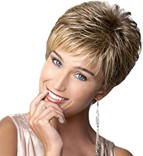 HAIRCUBE Wigs Natural Pixie Cut Synthetic Wigs for Women