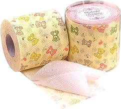 2 Rollos de Papel higiénico Impreso Núcleo Papel en Rollo Pulpa de Madera nativa 3 Capas Papel de Mano for el hogar Papel higiénico Oso Paquete a Granel ZHANGGUOHUA (Color : Yellow, Size : 2 Rolls)