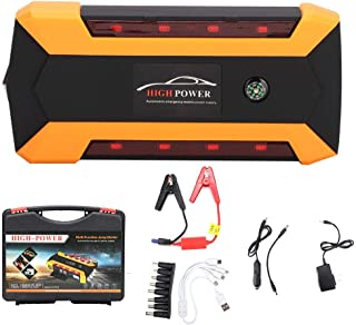 KIMISS 20000mAh Jump Starter Spare Car Charger Multi-Functional Emergency Power Supply 110V-240V(U.S. regulations)